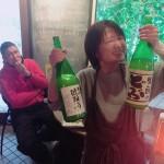ルリで日本酒Bar三杯目◎ロックンロール命日カレンダーシドナイト