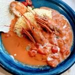 完熟トマトの海老カレーが売り切れ寸前◎