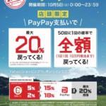 本日のみ◯PayPay最大20%還元!!