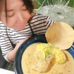 the新作!! ◯白いレモンチキンカレー(仮)