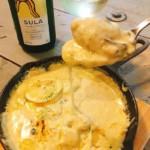 牡蠣の白いカレーグラタン◯ハナ金カレーサービスはカライスープ♪♪