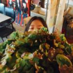 ささらサラダがついたグリーングリーンカレー♪♪